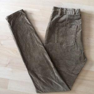 Uniqlo HEATTECH pants High rise velvet legging